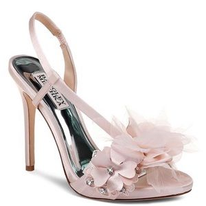Badgley Mischka Embellished High Heel Sandal